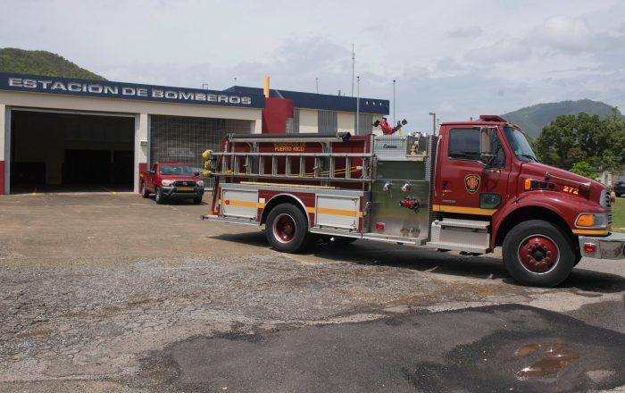 Incendio en local comercial de Yauco