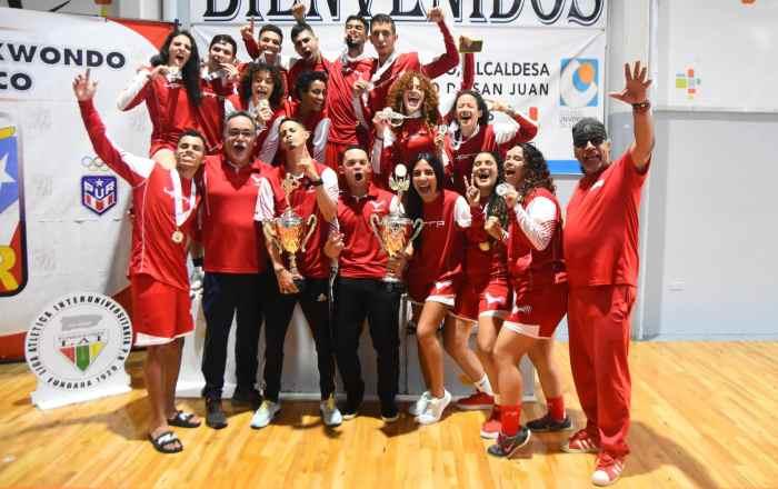 UPR de Río Piedras copa el taekwondo de la LAI