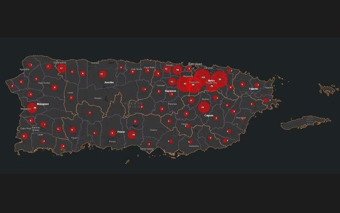 12 municipios no tienen casos con COVID-19