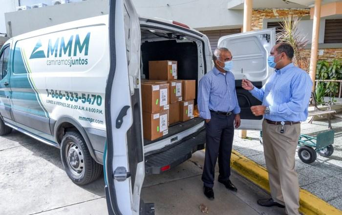 MMM entrega 10,000 pruebas rápidas a Salud