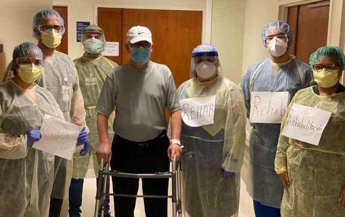 Paciente de coronavirus completa recuperación
