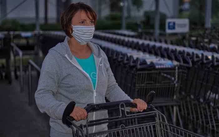 ¿Cómo protegerse del COVID al comprar en el supermercado?