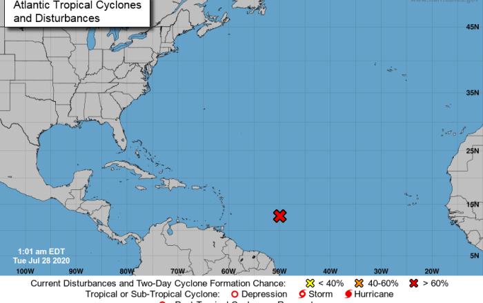 Probable depresión tropical o tormenta tropical en próximos días