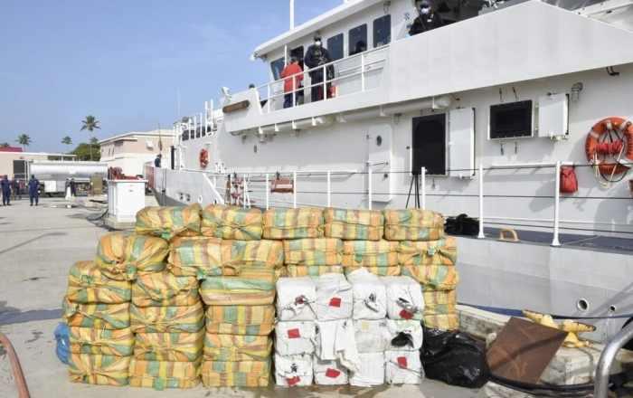 Incautan $48 millones en drogas en el Caribe