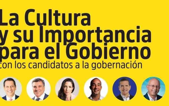 Debate sobre cultura entre candidatos a la gobernación