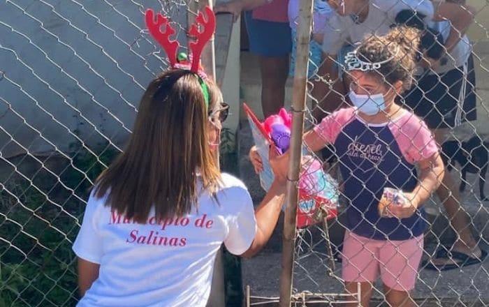 Obsequiarán regalos casa por casa en Salinas