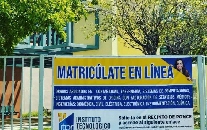Educación pone candado al Instituto Tecnológico de Ponce