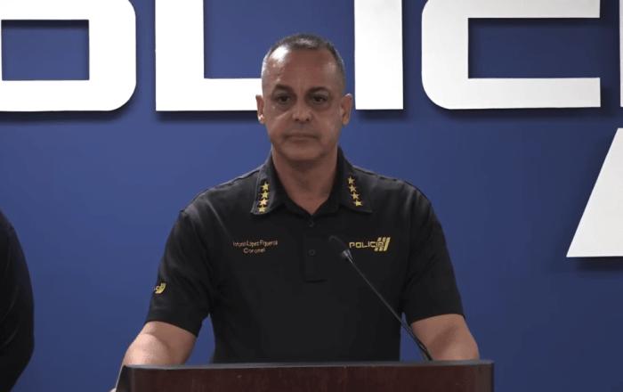 Comisionado de la Policía asegura que Félix Verdejo no es sospechoso