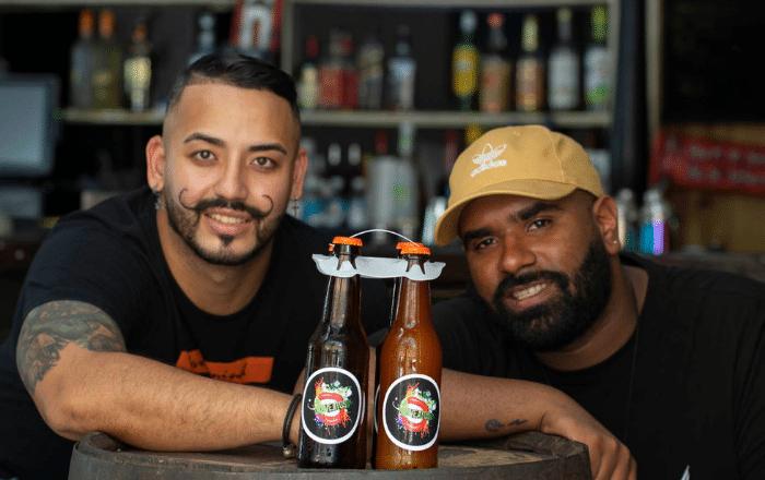 Mojitos en botellas de cerveza: la idea de 4 amigos