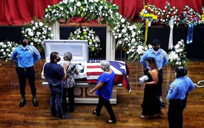 Policía asesinado será sepultado en Ponce