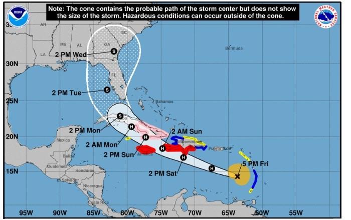 Pronostican que huracán Elsa seguirá su rumbo sin tocar Puerto Rico