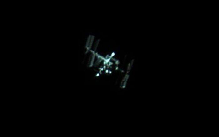 Captan la Estación Espacial al pasar sobre Puerto Rico