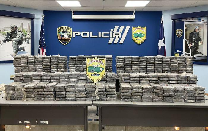 Incautan drogas valorada en $10.8 millones