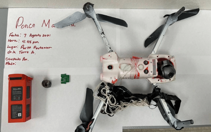 Envían contrabando por drones a cárceles