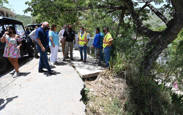 Yauco inicia reconstrucción de carreteras y puentes
