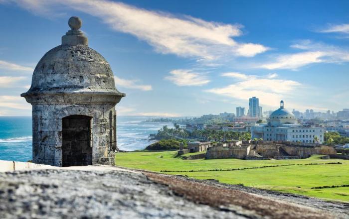 De paseo por el Viejo San Juan
