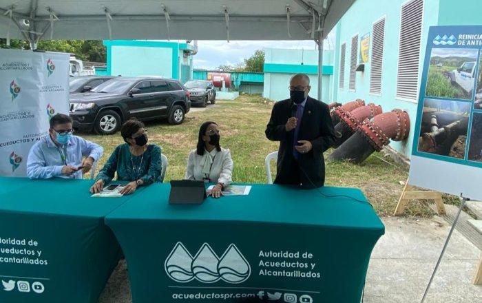 AAA reactiva toma de agua para suplir abonados en Ponce