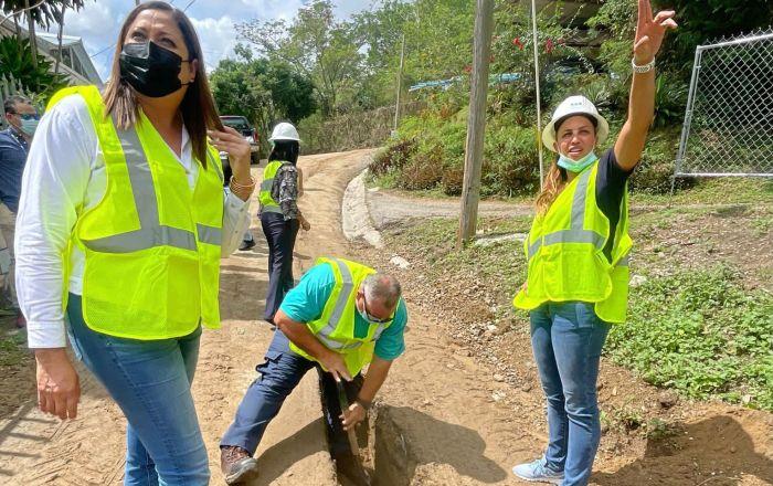 Llevarán agua potable a sector Cuevitas en Juana Díaz