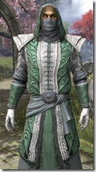 Abah's Watch Robe - Male Close Front