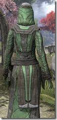 Ancient Elf Homespun Robe - Female Close Back