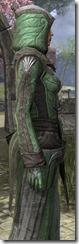 Ancient Elf Homespun Robe - Female Close Side