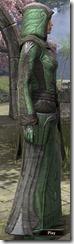 Ancient Elf Homespun Robe - Female Side
