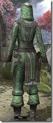 Ancient Elf Homespun Shirt - Female Back