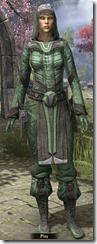 Ancient Elf Homespun Shirt - Female Front