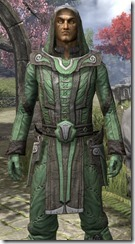 Ancient Elf Homespun Shirt - Male Close Front
