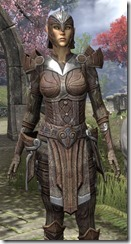 Ancient Elf Rawhide - Female Close Front