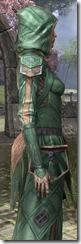 Ancient Orc Homespun Robe - Female Close Side