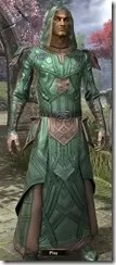 Ancient Orc Homespun Robe - Male Front
