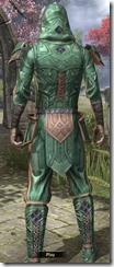 Ancient Orc Homespun Shirt - Male Back