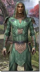 Ancient Orc Homespun Shirt - Male Close Front