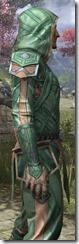 Ancient Orc Homespun Shirt - Male Close Side