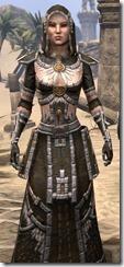 Argonian Cotton - Female Robe Close Front