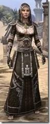 Argonian Cotton - Female Robe Front