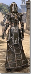 Argonian Cotton - Female Robe Rear