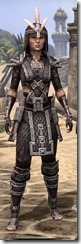 Argonian Full-Leather - Female Front