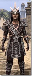 Argonian Full-Leather - Male Close Front
