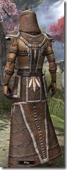 Argonian Homespun Robe - Male Back