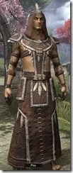 Argonian Homespun Robe - Male Front