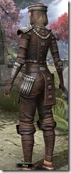 Argonian Iron - Female Back