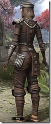 Argonian Iron - Female Back
