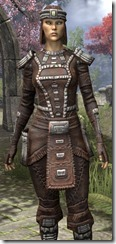 Argonian Iron - Female Close Front