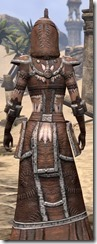Argonian Linen - Female Robe Close Rear