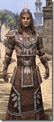 Argonian Linen - Male Robe Close Front
