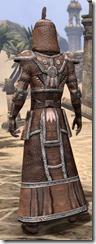 Argonian Linen - Male Robe Rear