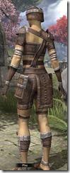 Argonian Rawhide - Female Back