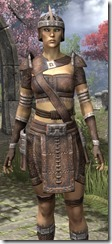 Argonian Rawhide - Female Close Front